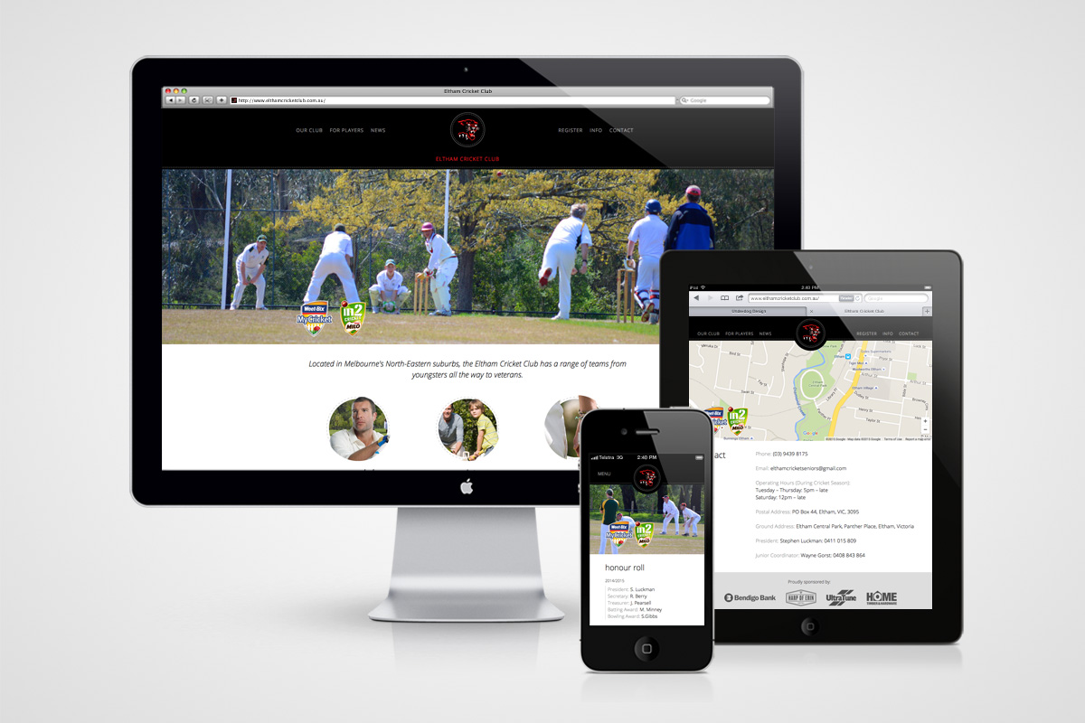 eltham cc website